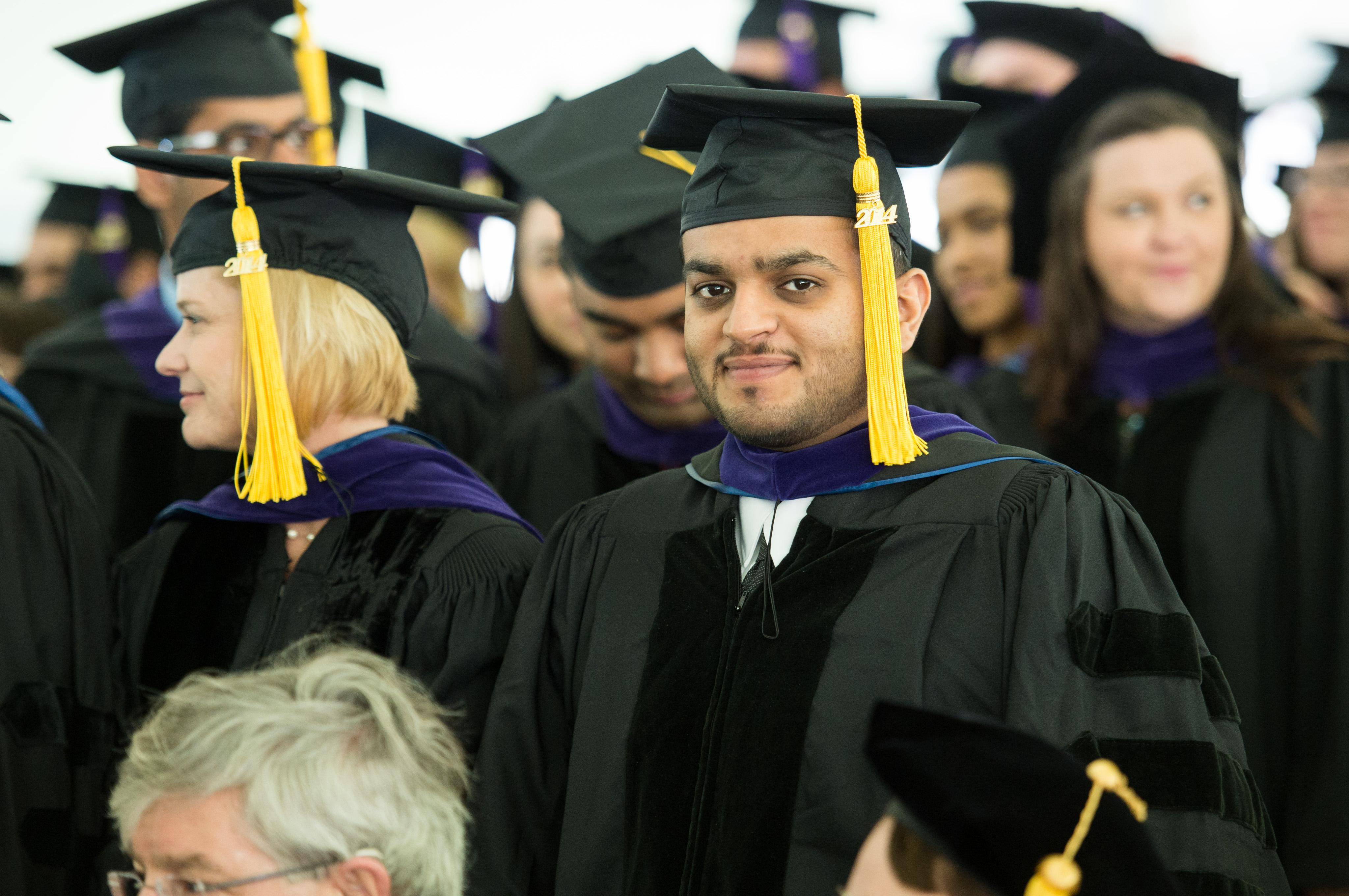 UConn student