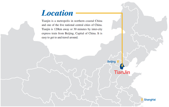 Tianjin location
