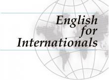 English for Internationals